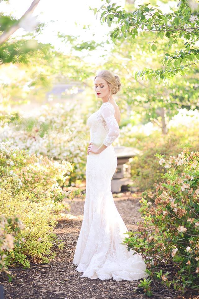 Wedding Dresses Jefferson St Dallas Tx : Real bride haley in allure lulu s bridal