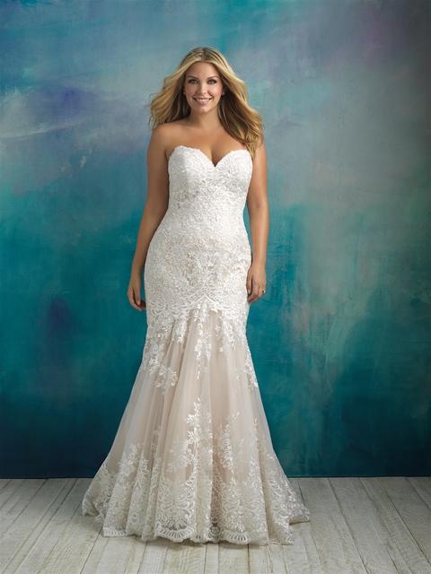 Find your Plus Size Wedding Dress at LuLu\'s Bridal - LuLu\'s Bridal
