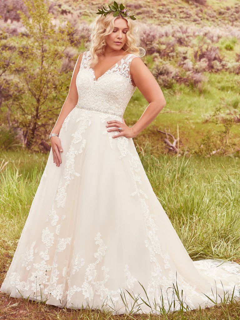 a140d9fc29e9f Find your Plus Size Wedding Dress at LuLu's Bridal - LuLu's Bridal