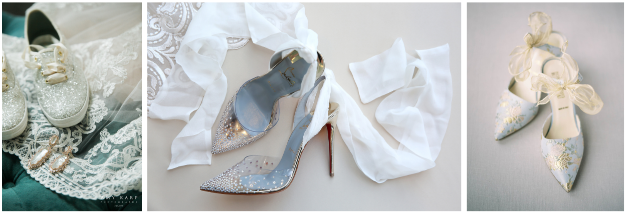 Images of bridal shoes