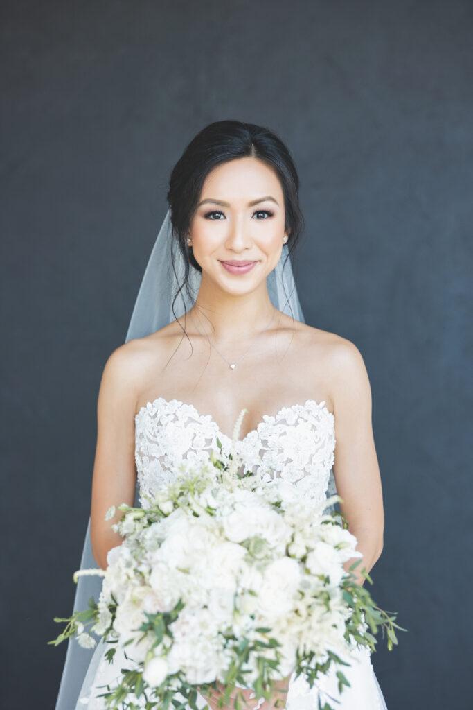 Real Morilee Bride Alice Bridal Portait